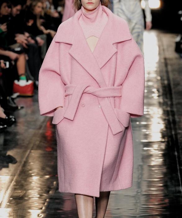 Inspiration: Oversize coat at Carven Winter 2013
