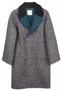 Christopher Esber Gusset Tweed Cocoon Coat