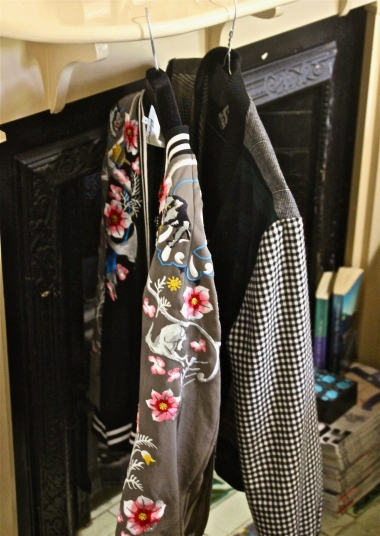 displaying jackets