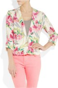 Elizabeth and James Bruce Floral Jacket