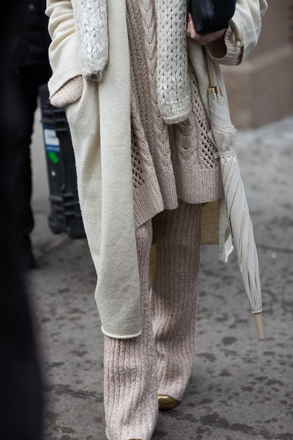 the sartorialist beige tones fall 15